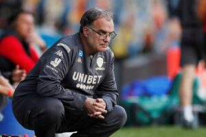Marcelo Bielsa's very first starting line-up as Leeds United manager