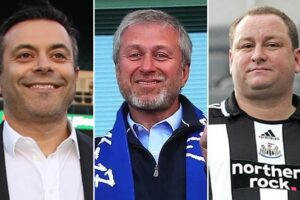 All 20 Premier League club owners ranked from poorest to richest