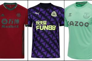 Ranking this season's Premier League third kits from worst to best