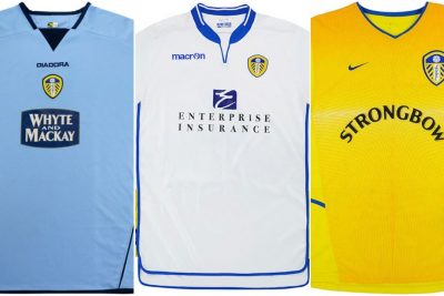 QUIZ: Can you name the season these 10 Leeds United shirts are from?